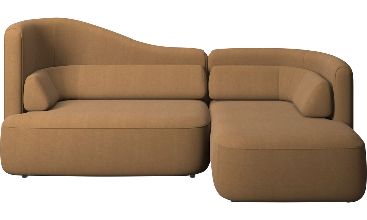 3 seater sofas - Ottawa sofa - Brown - Fabric