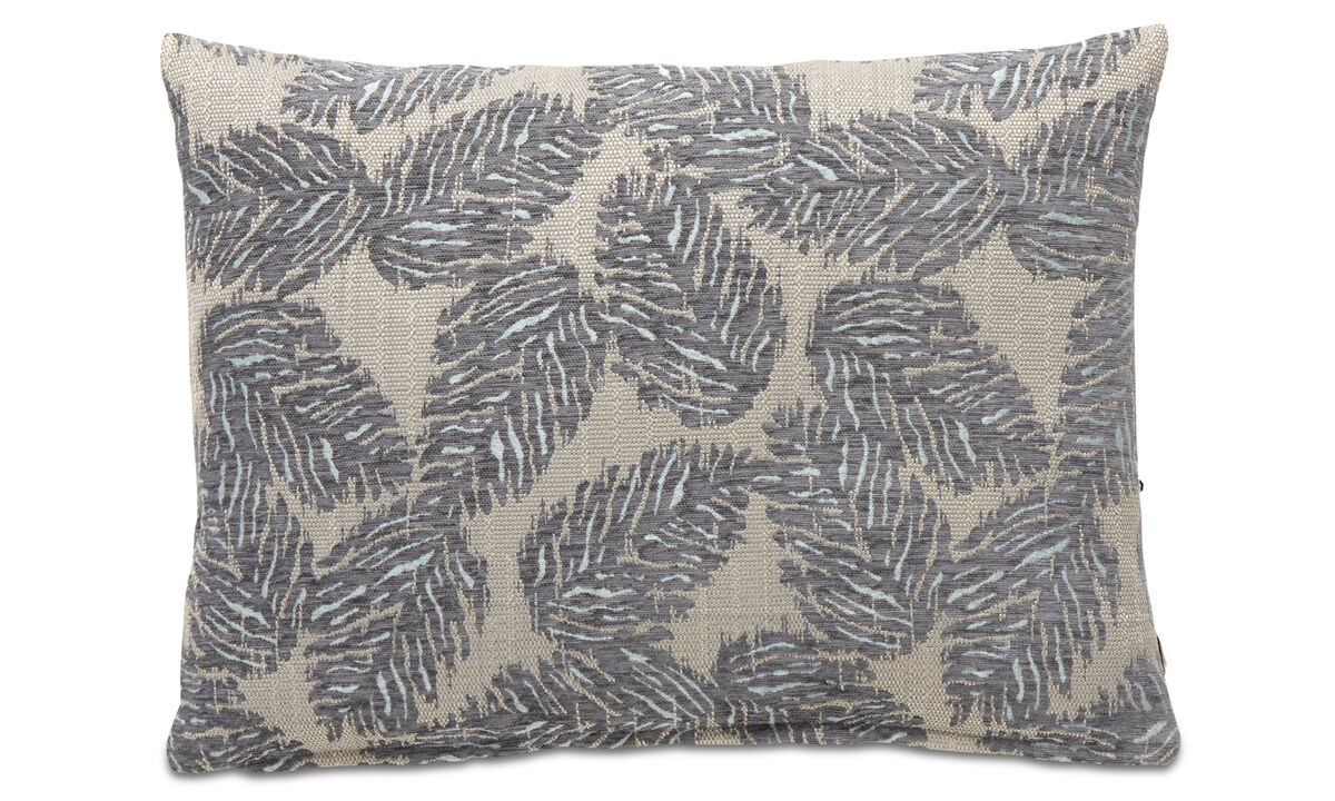 Patterned cushions - Oak cushion - Blue - Fabric