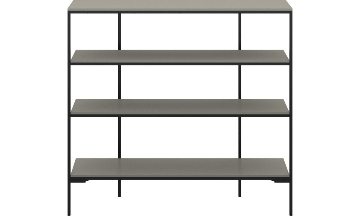 Hallway furniture - Bordeaux wall system - Black - Lacquered