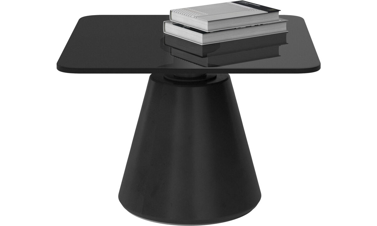 Coffee tables - Madrid coffee table - square - Grey - Glass