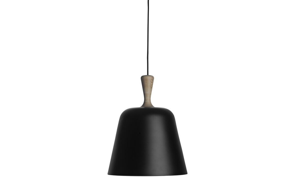 Lamps - Handle Me pendant - Black - Metal