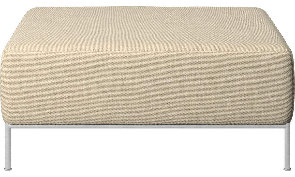 Footstools - Miami footstool - Brown - Fabric