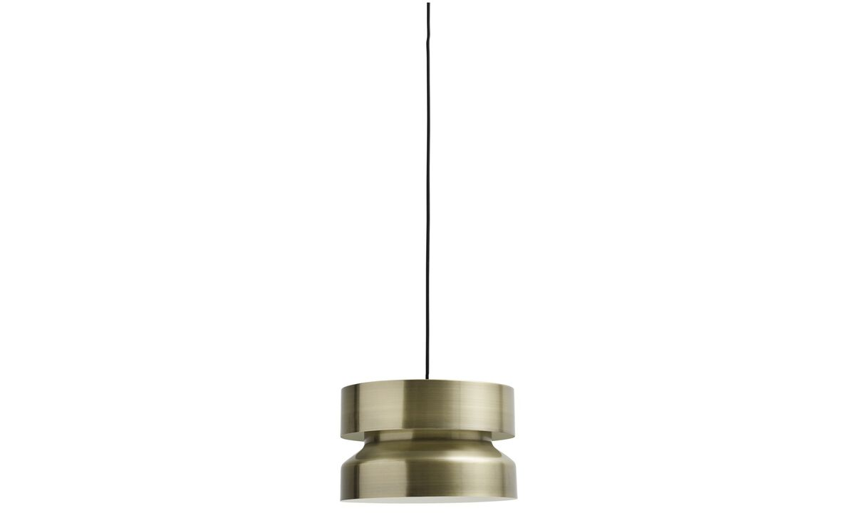 Lamps - Space line pendant - Yellow - Metal