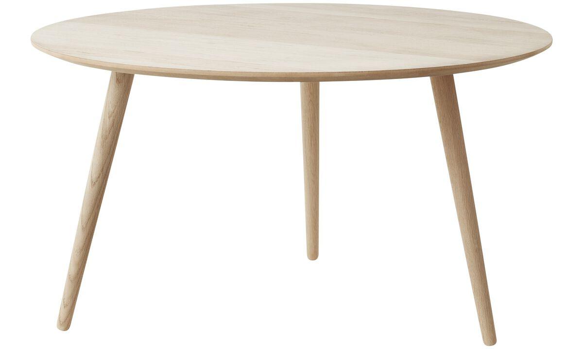 Coffee tables - Bornholm coffee table - round - Brown - Oak
