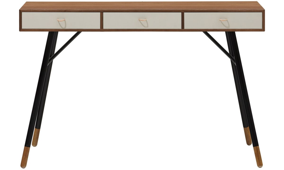 Desks - Cupertino console table - rectangular - Brown - Walnut