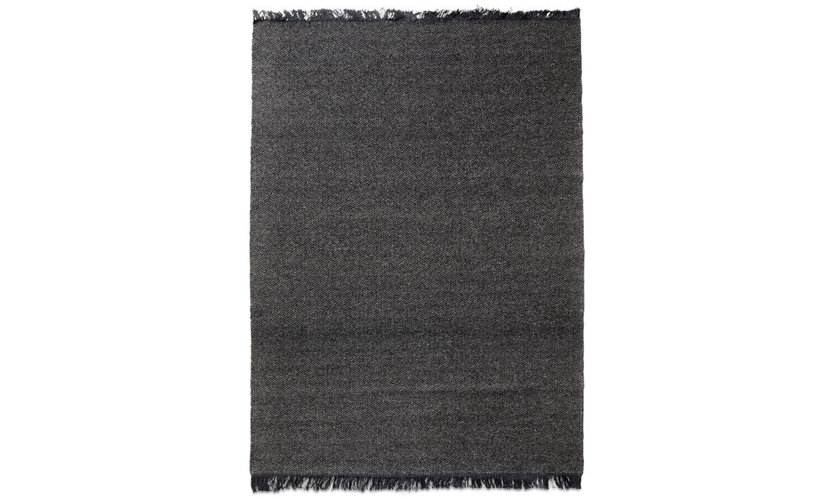 Rectangular rugs - Monza rug - rectangular - Grey - Wool