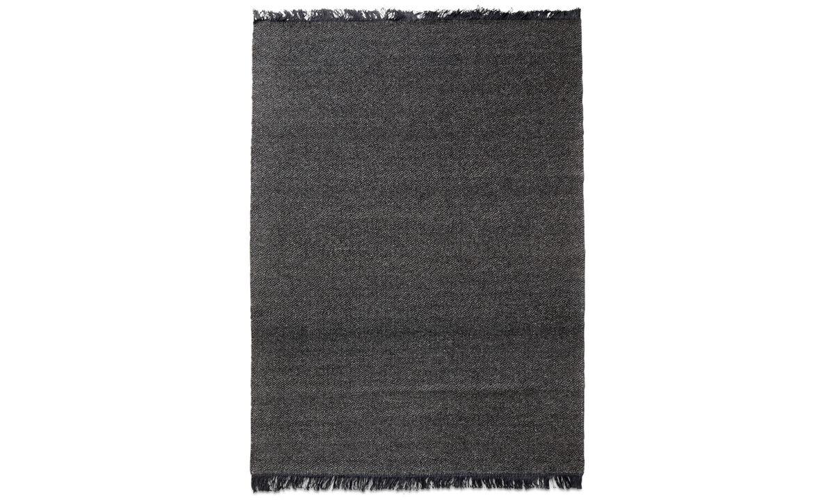 Прямоугольные ковры - Ковер 'Monza' - прямоугольный - Серого цвета - Шерсть