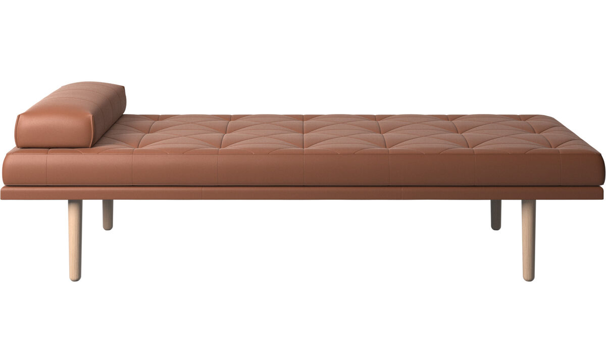 Daybeds - fusion day bed - Brown - Leather
