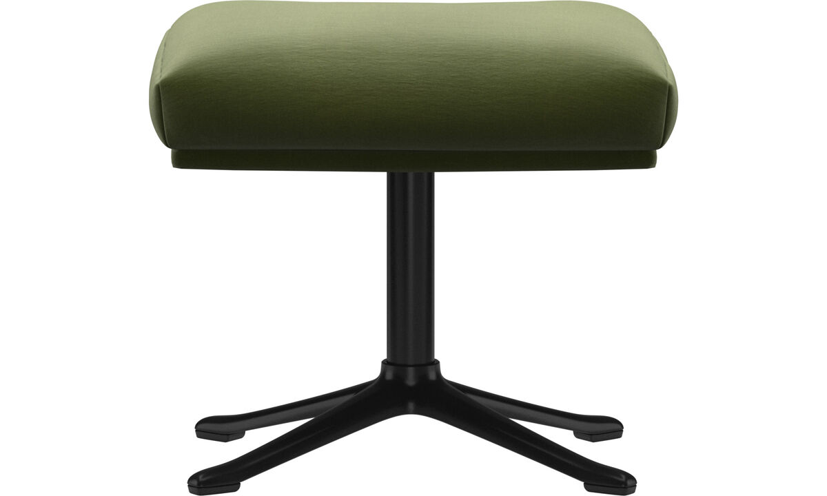 Footstools - Reno footstool - Green - Fabric