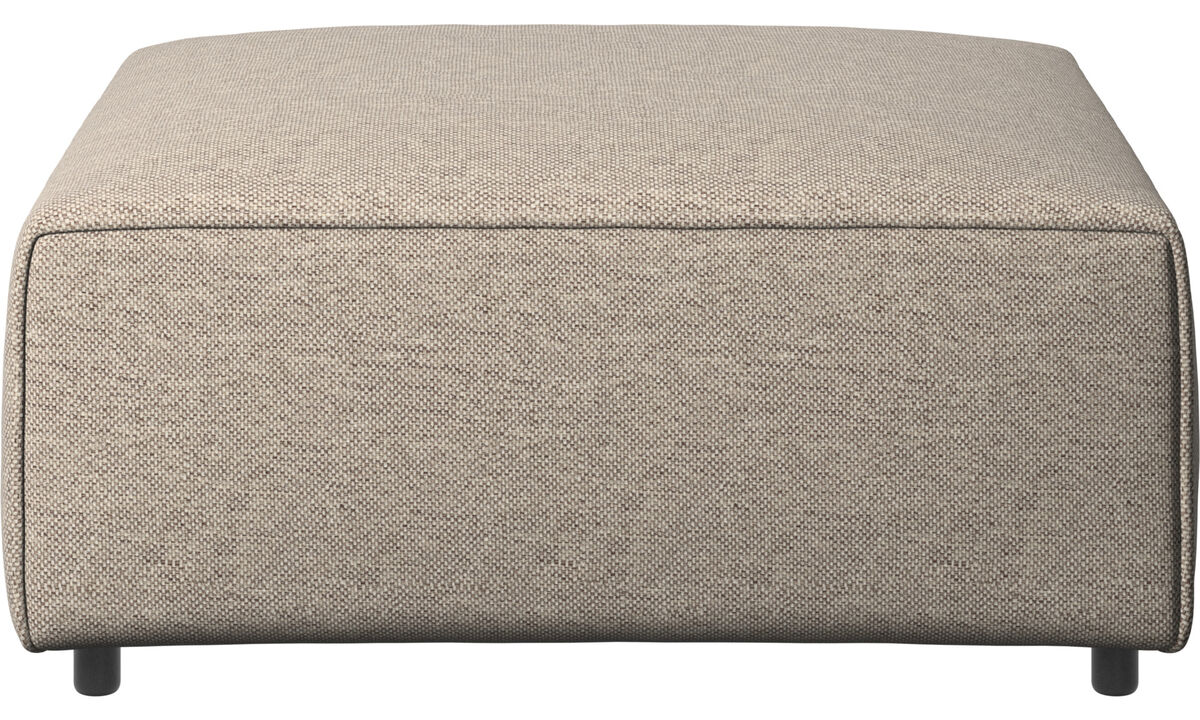 Modulære sofaer - Carmo puf - Beige - Stof