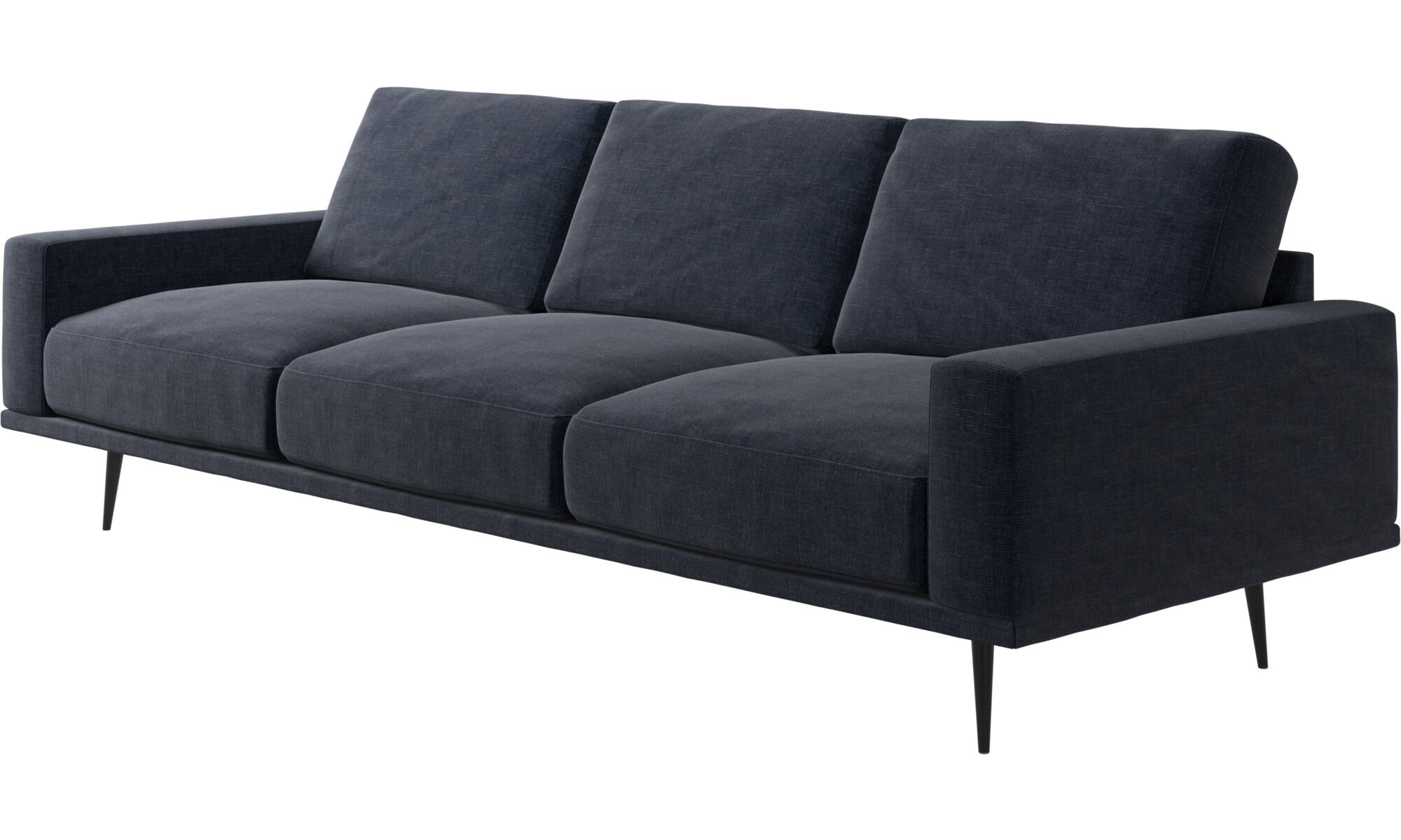 Attraktiv ... 3 Sitzer Sofas   Carlton Sofa   Blau   Stoff ...