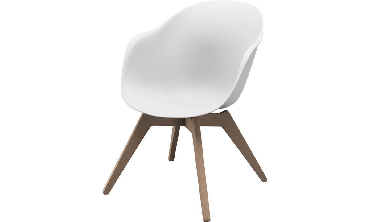 Fotelek - Adelaide Lounge szék - Fehér - Műanyag