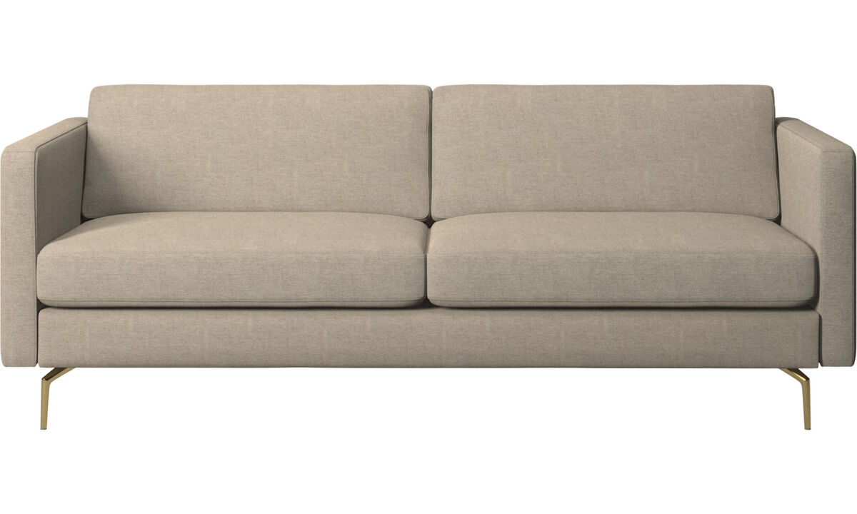 2.5 seater sofas - Osaka sofa, regular seat - Beige - Fabric