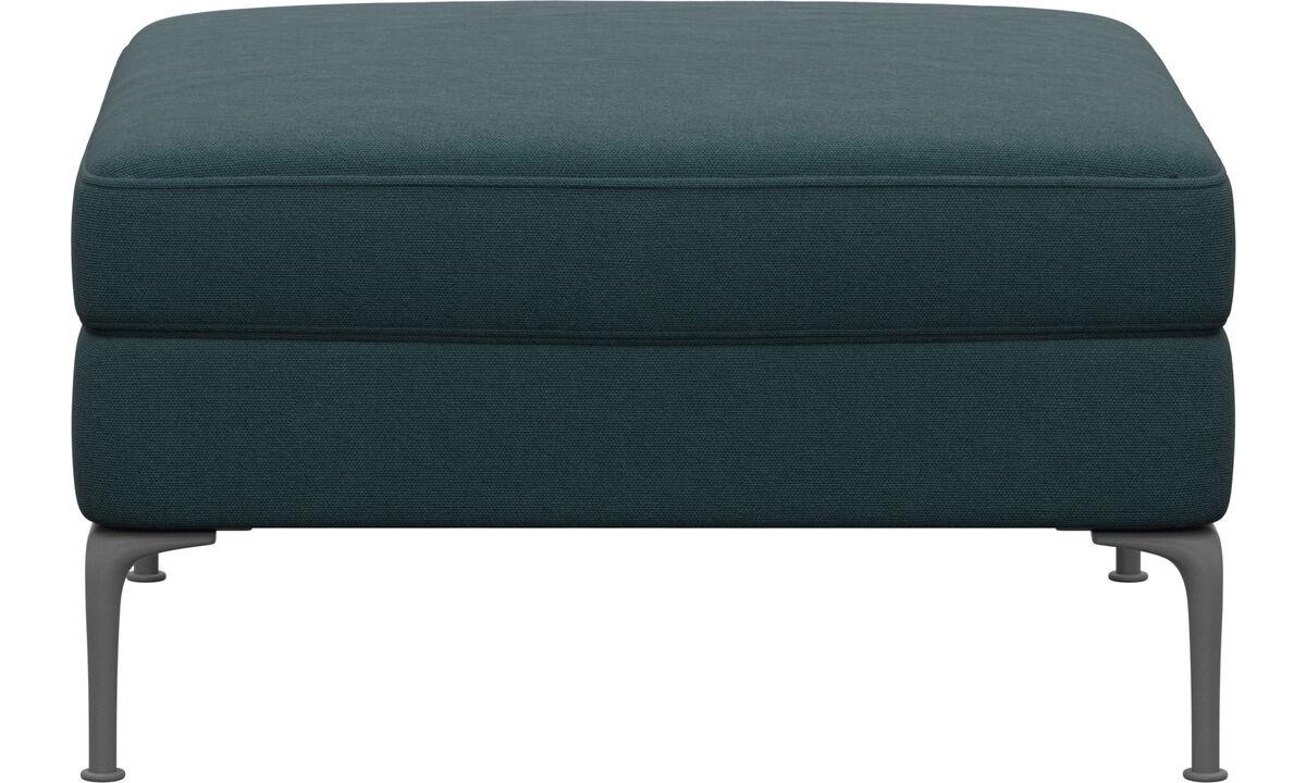 软垫凳 - Marseille 座垫 - 蓝色 - 布艺