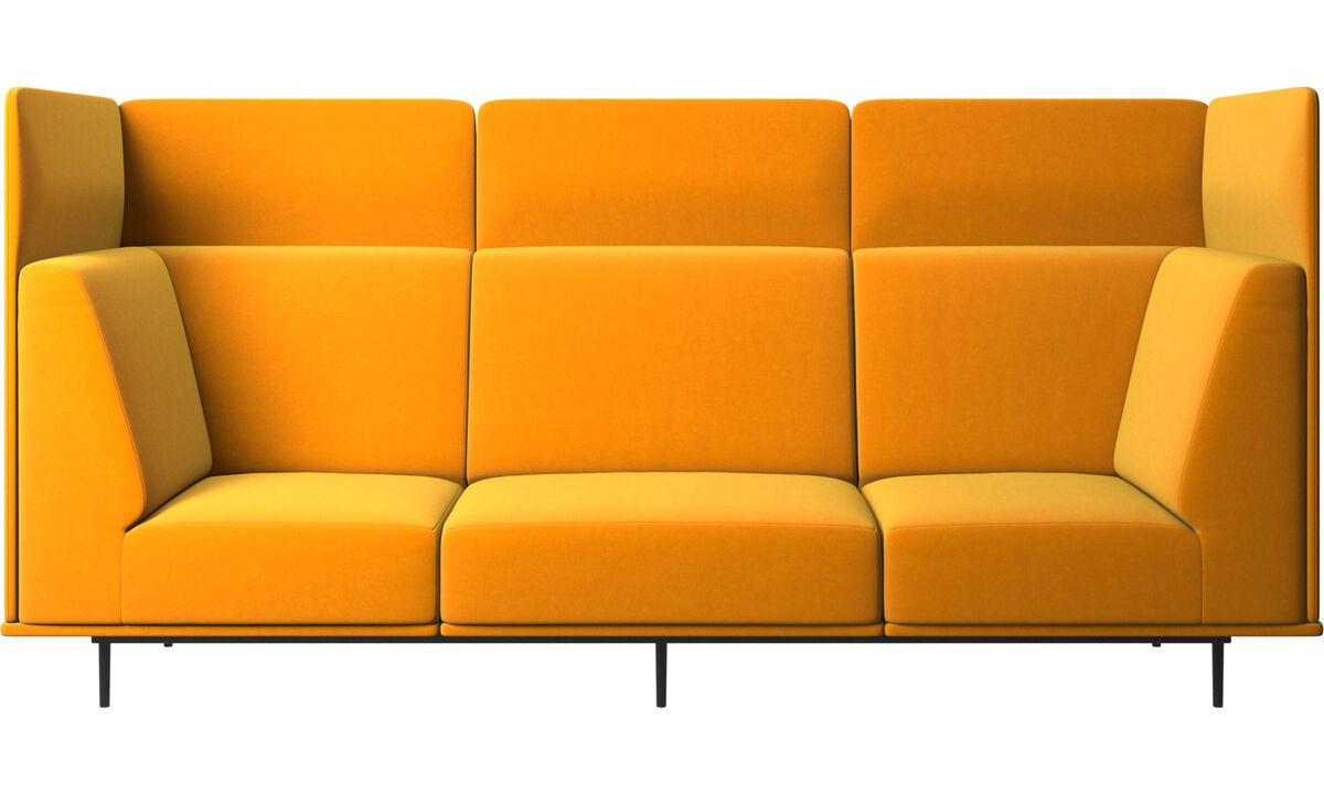 Sofás modulares - sofá Toulouse - Laranja - Tecido