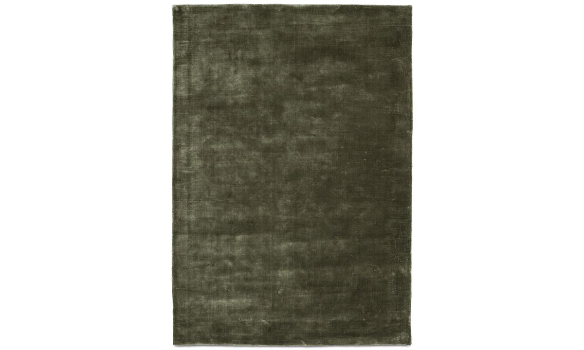 Rectangular rugs - Loom rug - rectangular - Green - Tencel