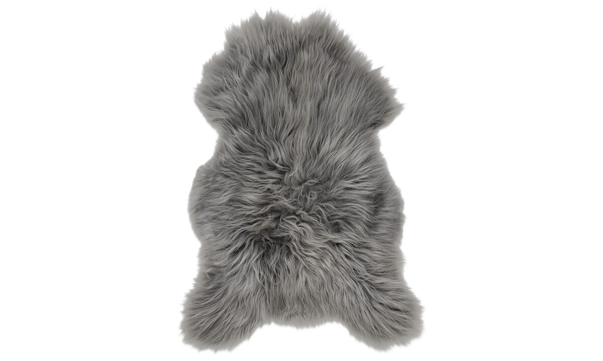 Throws & bedspreads - Sheepskin - Gray - Sheepskin