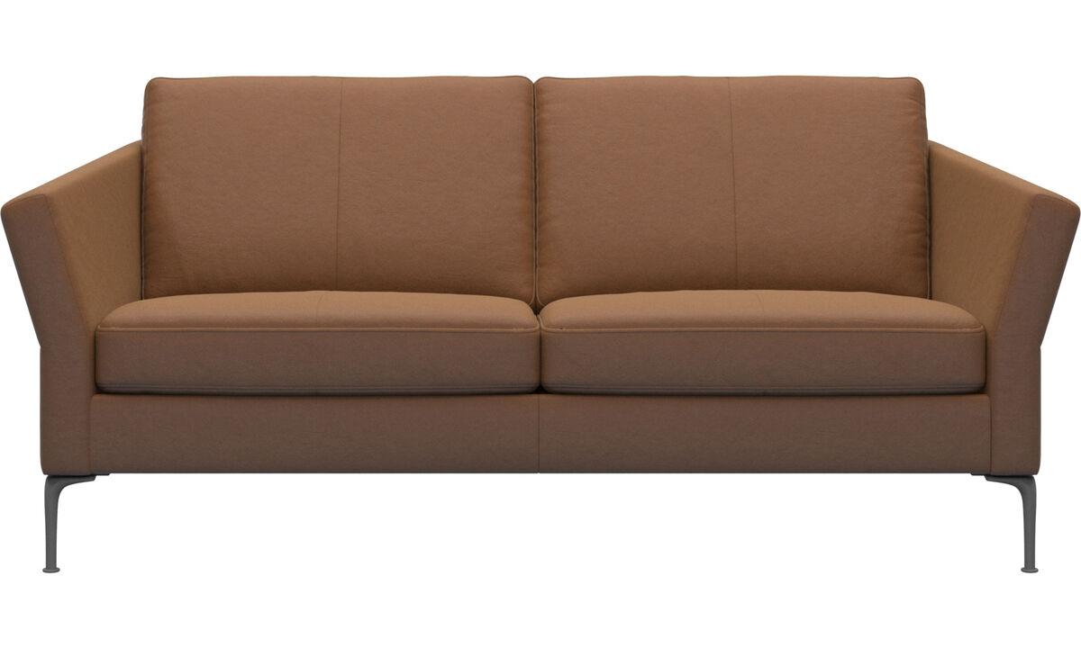 小户型沙发 - Marseille 沙发 - 褐色 - 革