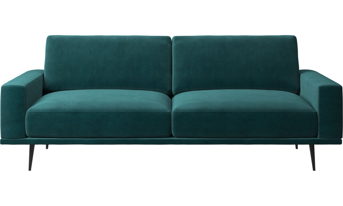 2.5 seater sofas - Carlton sofa - Blue - Fabric