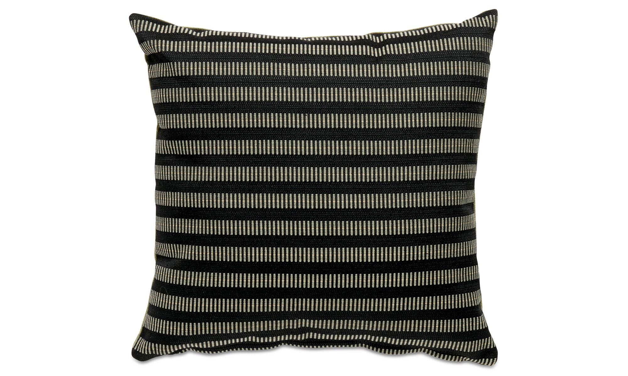 Cushions   Living Cushion   Black   Fabric