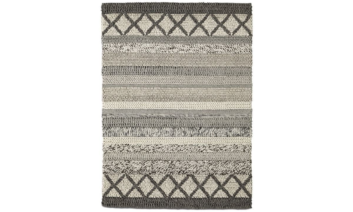 New designs - Palencia rug - rectangular - Grey - Fabric