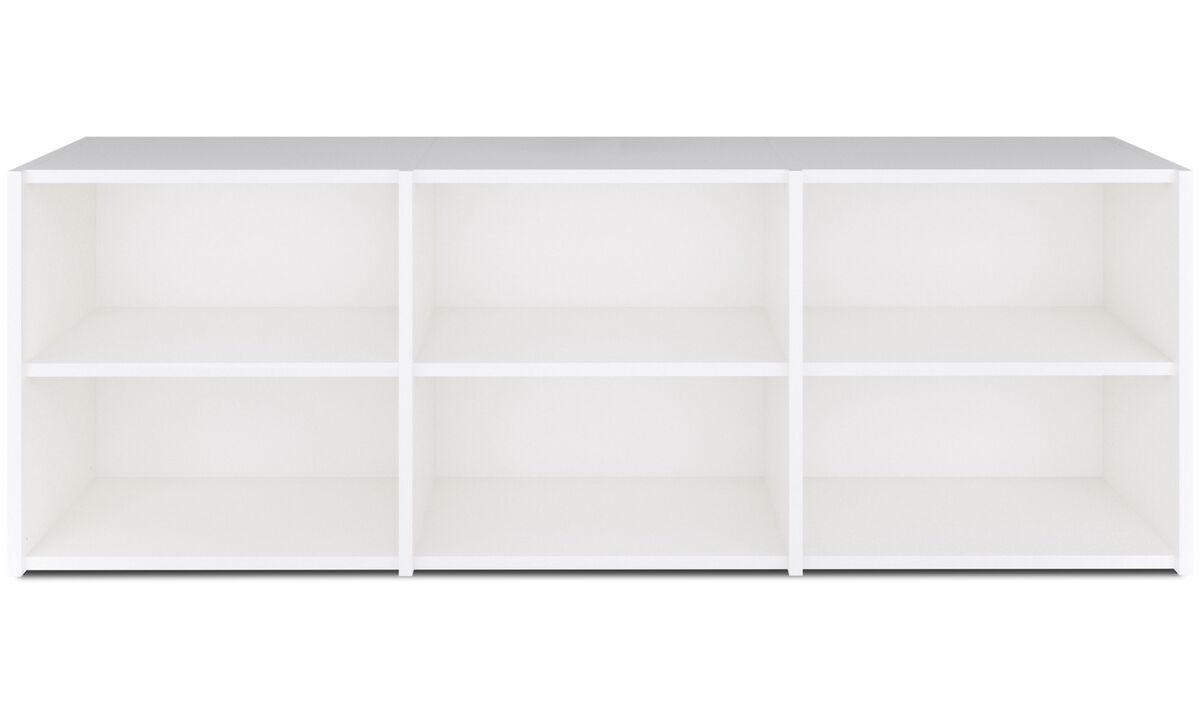 Wandsysteme - Copenhagen Wandsystem - Weiß - Lack