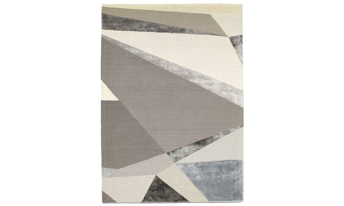 New designs - Gus rug - rectangular - Beige - Fabric