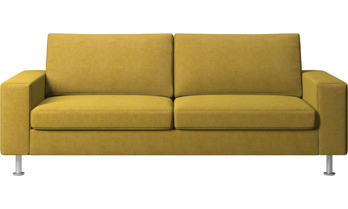 Sofa beds - Indivi sofa bed - Yellow - Fabric