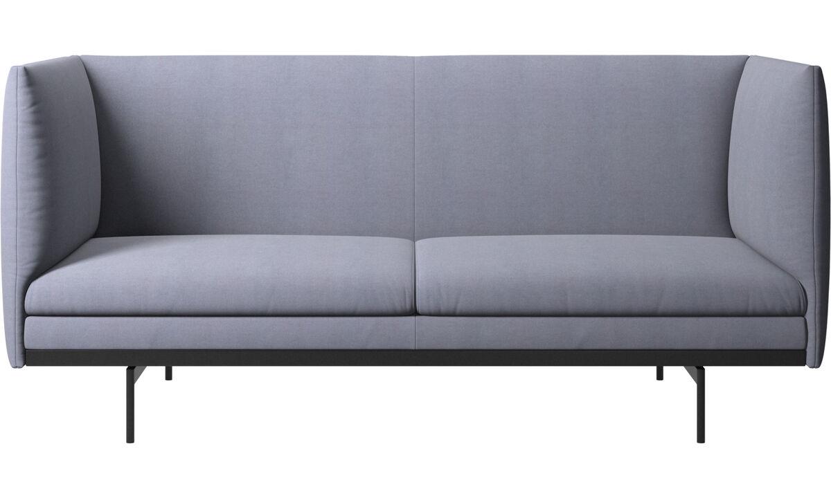 2 seater sofas - Nantes sofa - Blue - Fabric