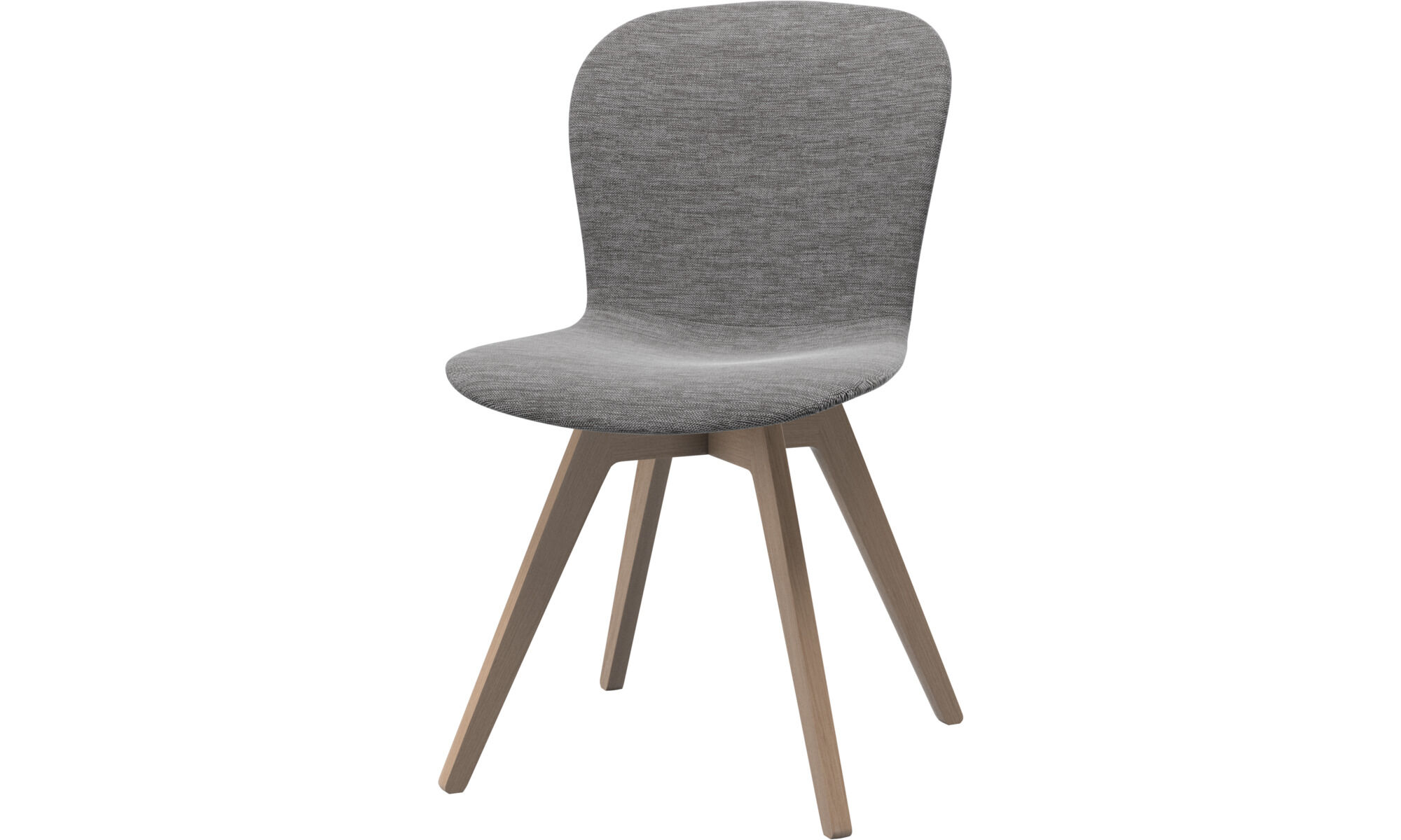 Exceptionnel Chaises   Chaise Adelaide   Gris   Tissu ...