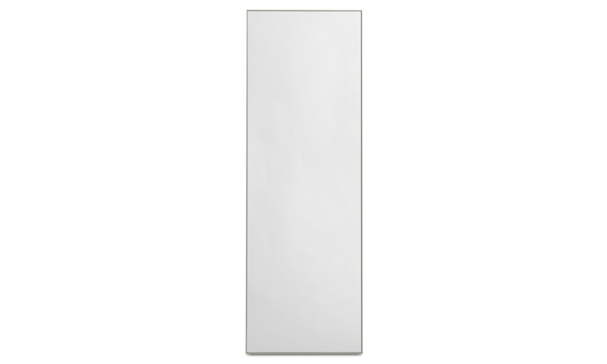 Mirrors - Modest mirror - Grey - Glass