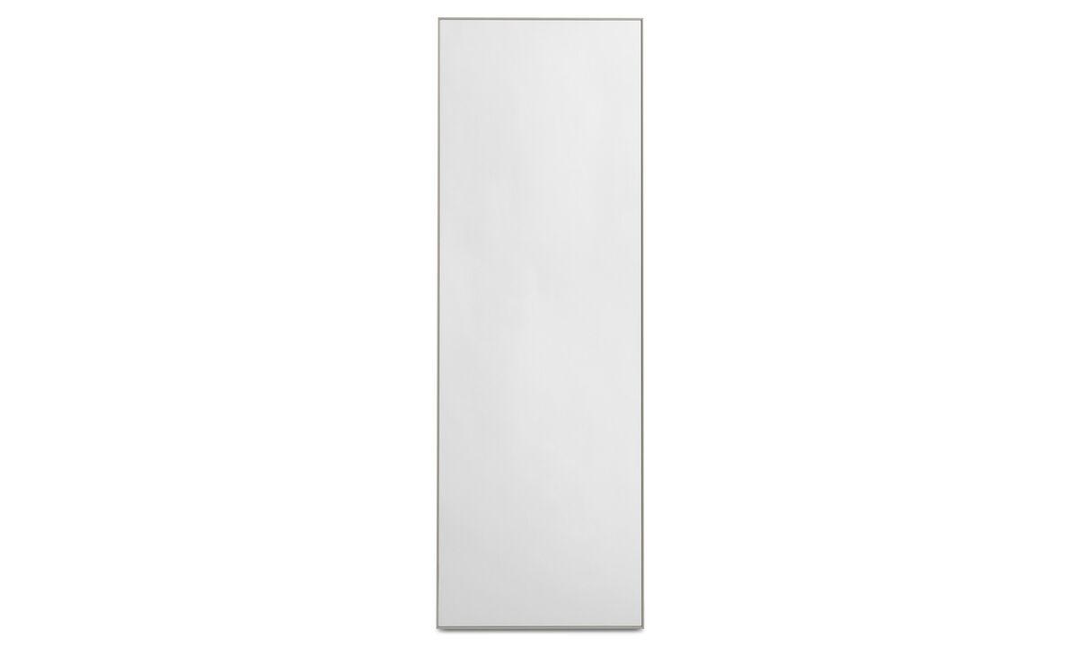 Mirrors - Modest specchio - Grigio - Cristallo