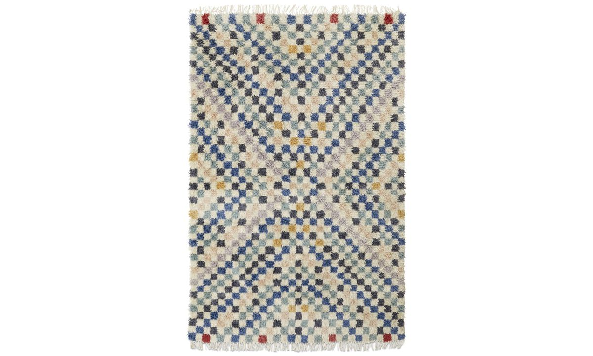 New designs - Kenitra Rug - rectangular - Mixed colours - Fabric