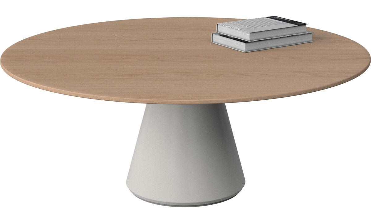 Coffee tables - Madrid tavolino - rotonda - Marrone - Rovere