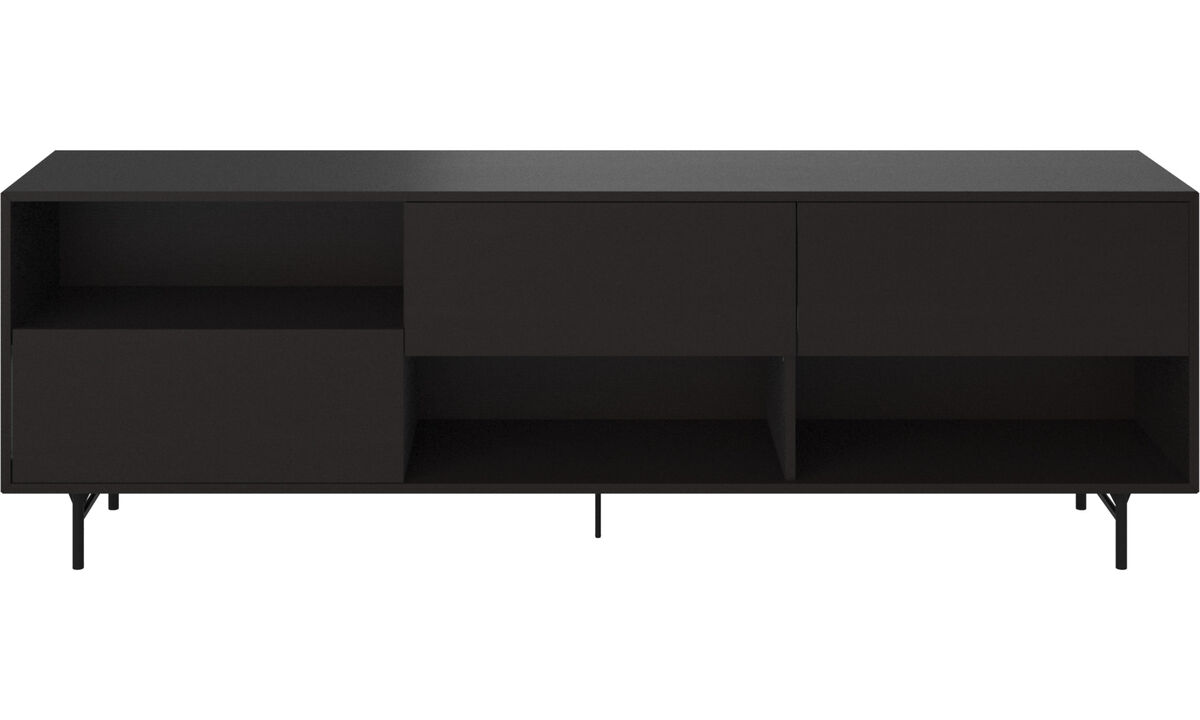 Sideboards - Manhattan Sideboard - Schwarz - Holz