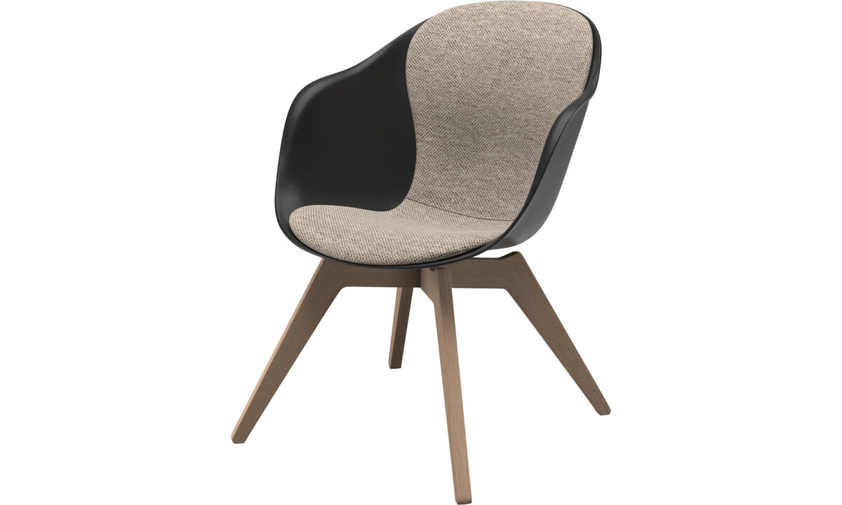 Armchairs - Adelaide lounge chair - Beige - Fabric