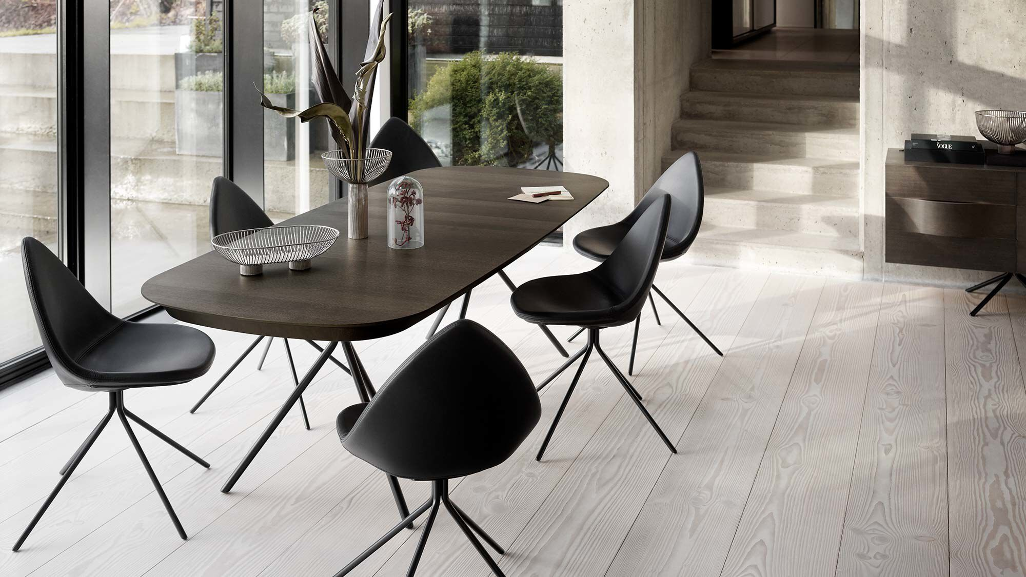 Brilliant Dining Tables Ottawa Table With Supplementary Tabletop Uwap Interior Chair Design Uwaporg