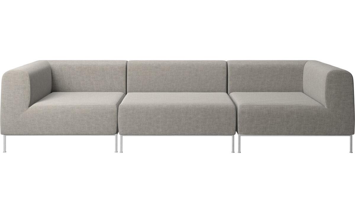 Modular sofas - Miami sofa - Grey - Fabric