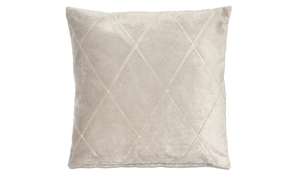 Patterned cushions - Harlekin cuscino - Marrone - Tessuto