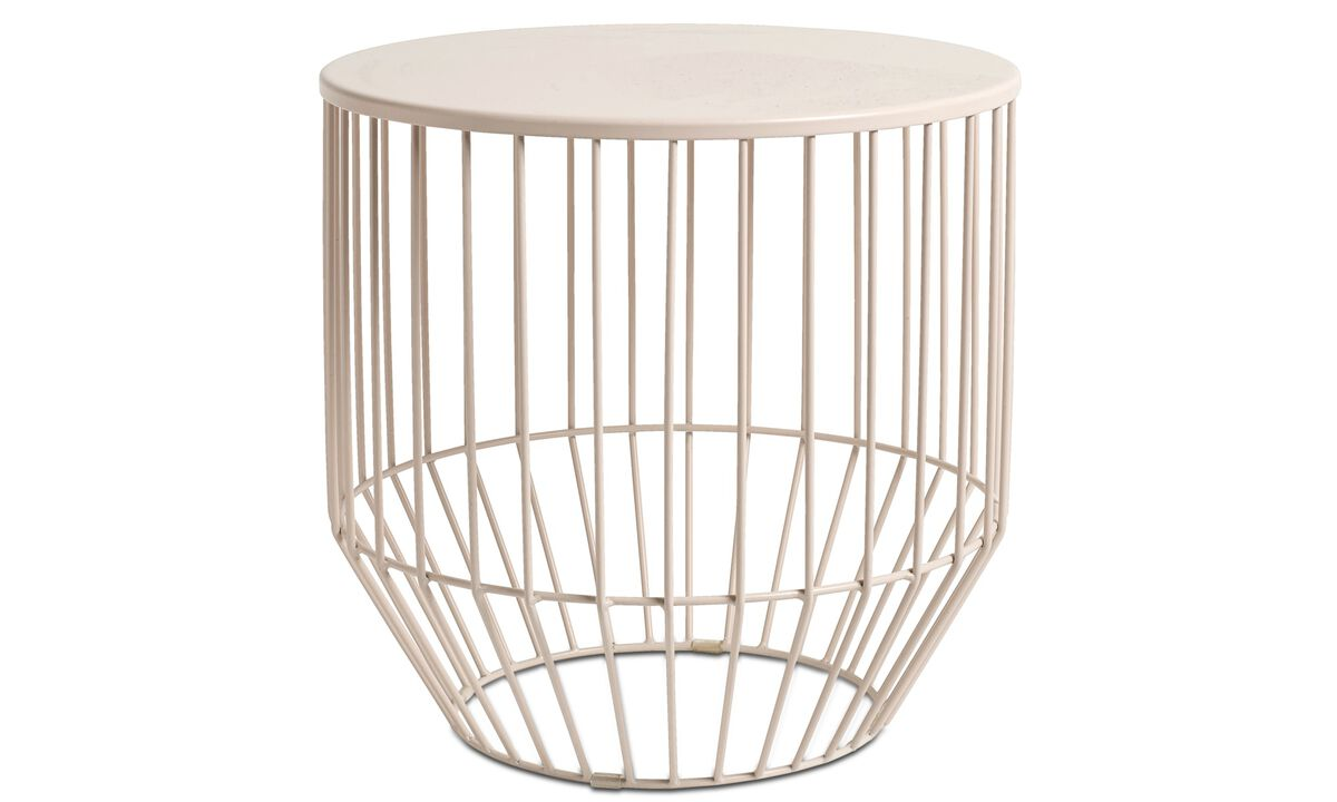 Hocker - Wire stool - Rot - Metall