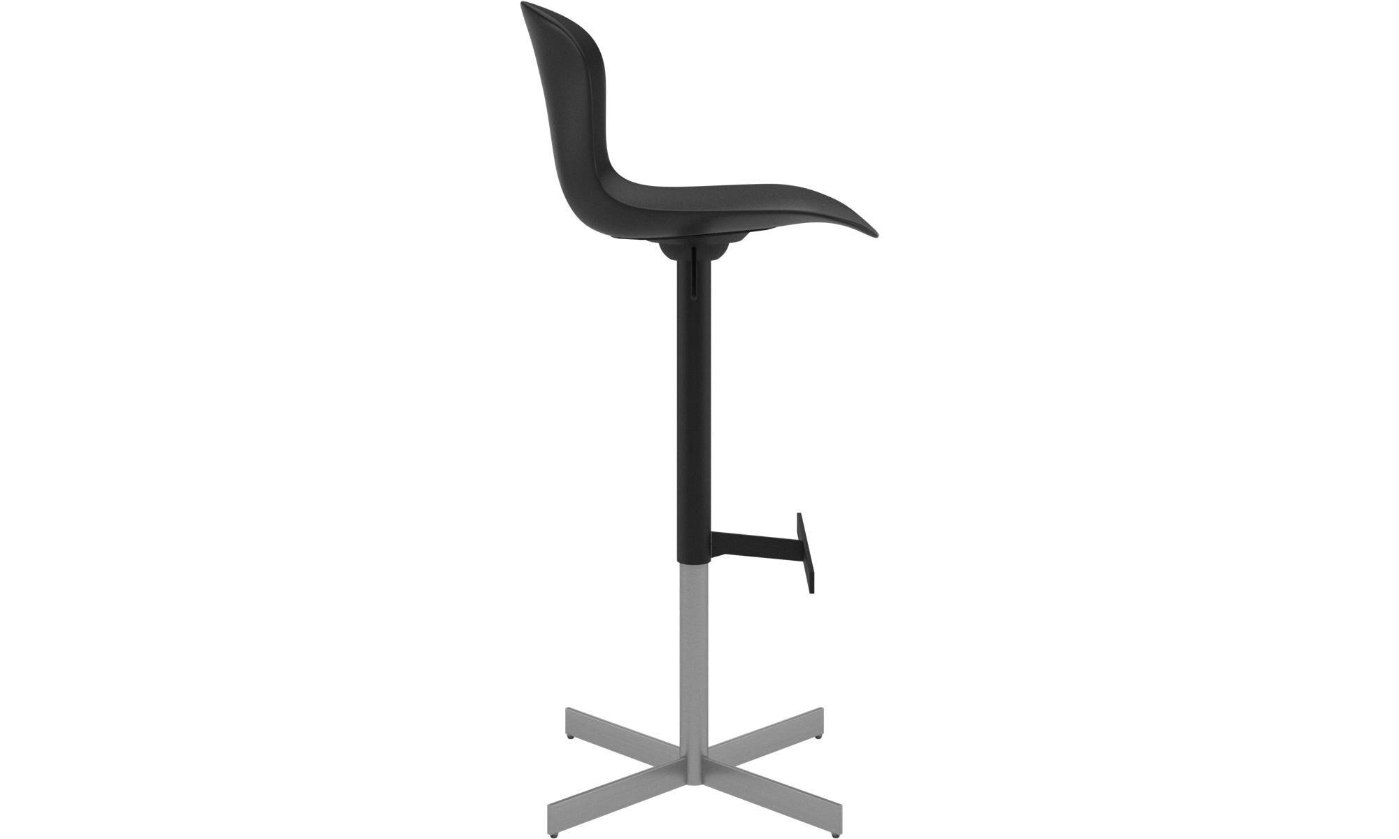 Bar stools sgabello adelaide con cartuccia a gas boconcept