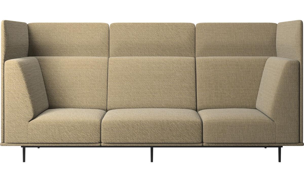 3 seater sofas - Toulouse sofa - Yellow - Fabric