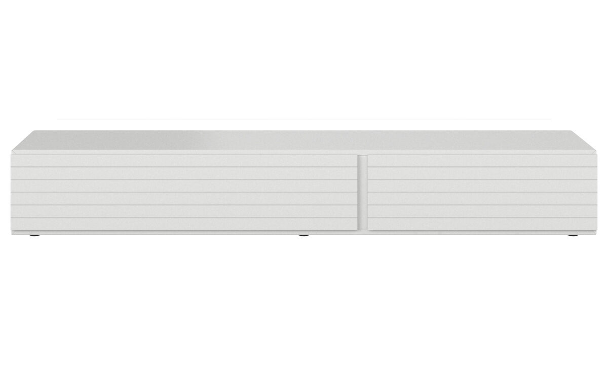 Tv units - Lugano base cabinet with drawer and drop down door - Lacquered