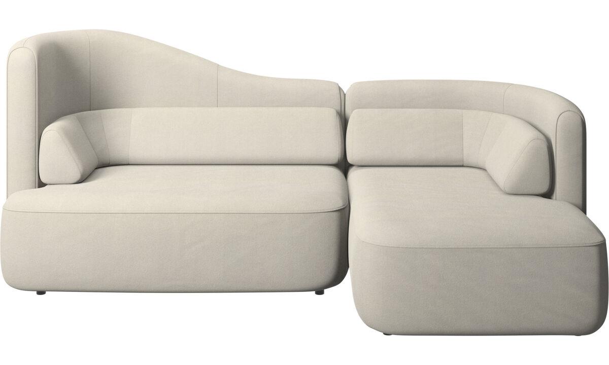 Modulárne sedačky - Sedačka Ottawa - Biela - Látka