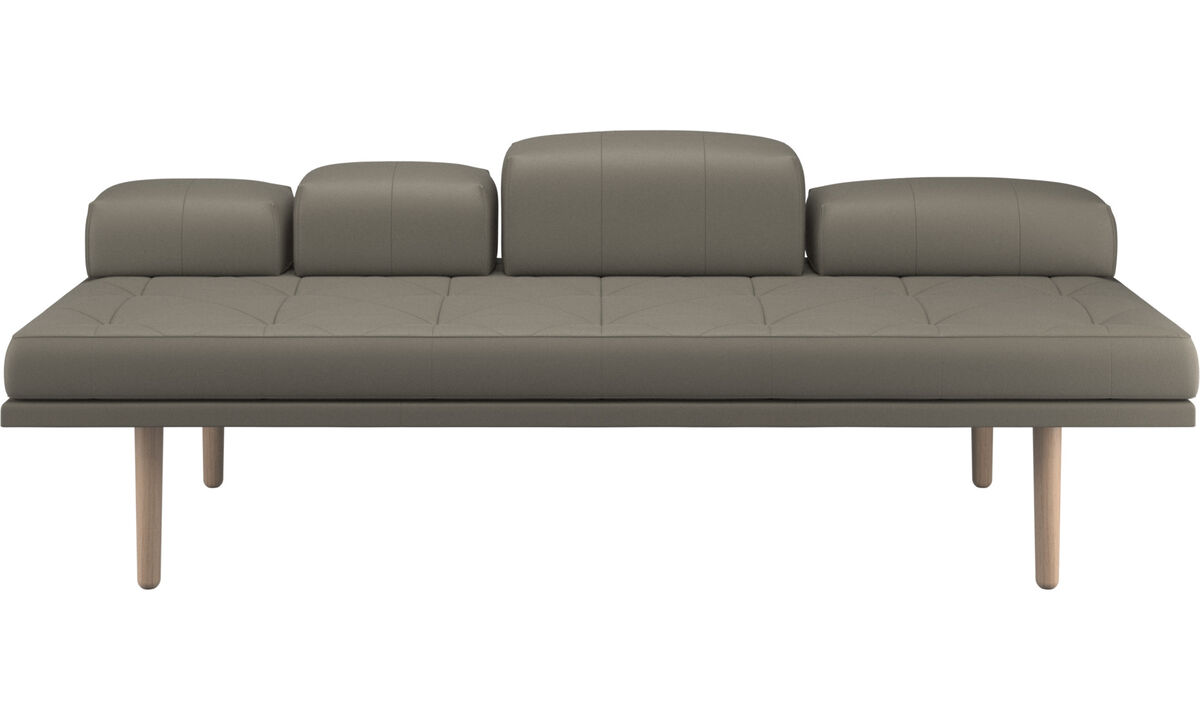Daybeds - fusion day bed - Grey - Leather