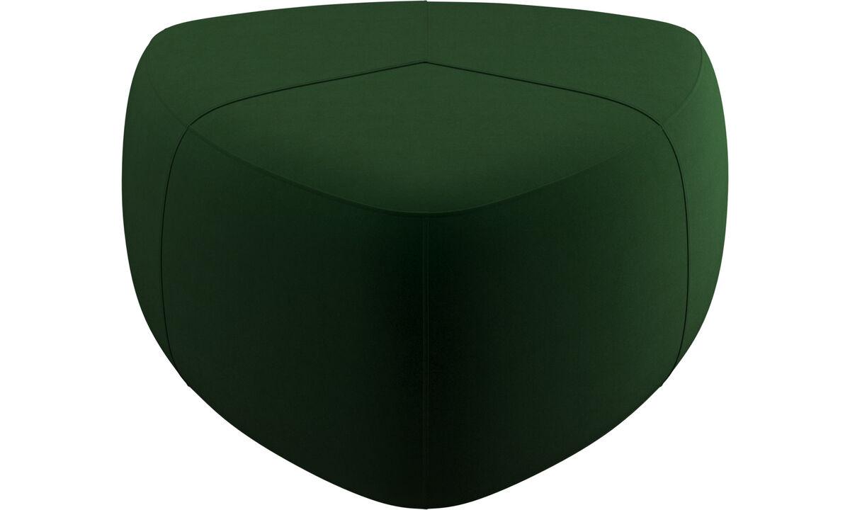 Пуфики - Пуф Bermuda - Зеленый - Tкань