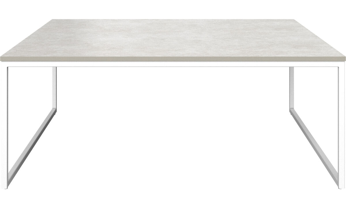 Coffee tables - Lugo coffee table - rectangular - Grey - Ceramic