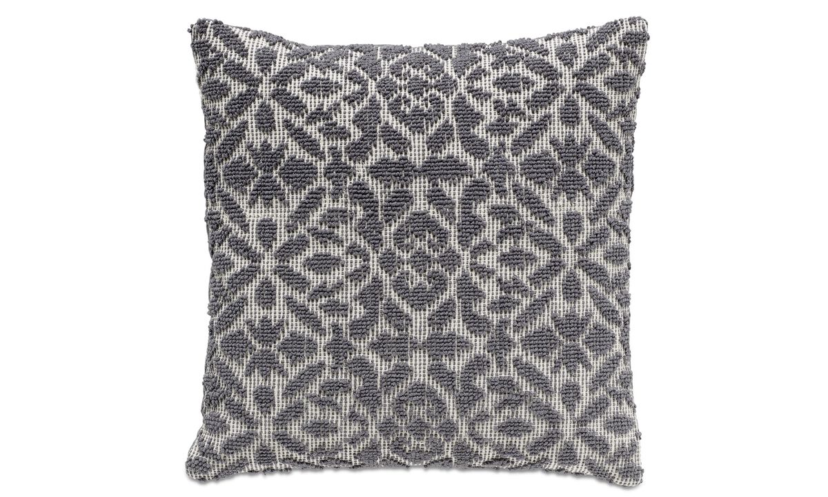 Cushions - Pattern cushion - Grey - Fabric