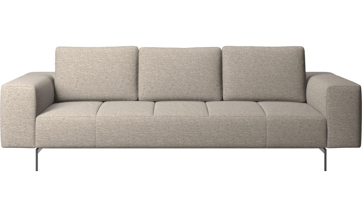 3 seater sofas - Amsterdam sofa - Beige - Fabric