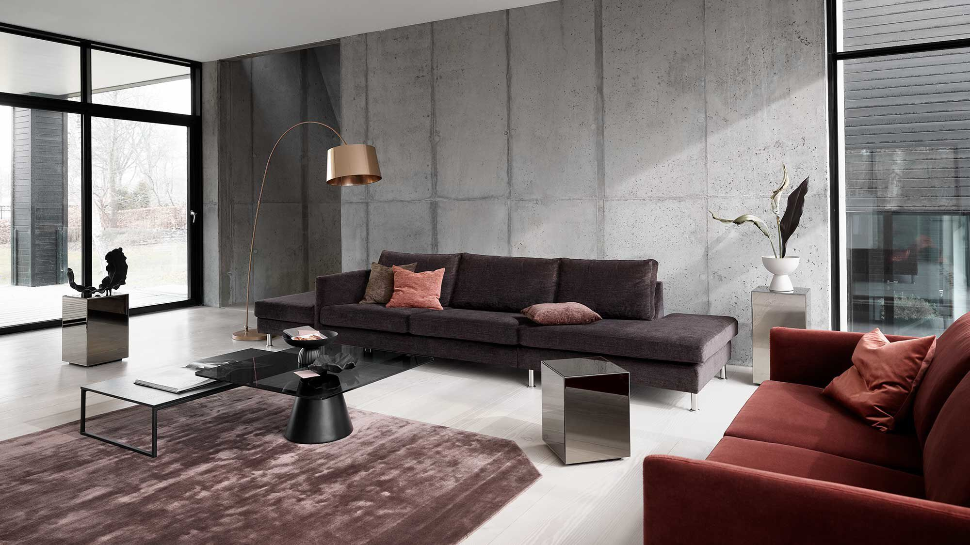 Sofas with open end - Indivi divano con lounge